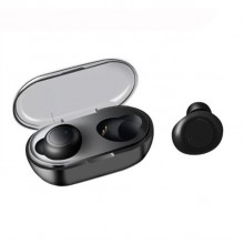 Casti Bluetooth Wireless TWS Techstar® Earbud cu Tehnologie BT 5.0 Negru