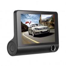 Camera Video Auto Tripla DVR Premium Reflection Vision, Full-HD, 3 Camere - Fata/Spate/Interior,